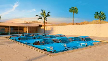 Porsche Artwork of Chris LaBrooy