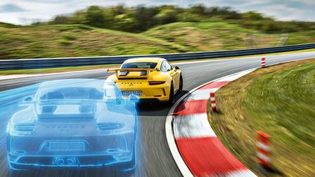 Porsche 911 GT3 at the Bilster Berg