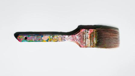 Porsche Andy Warhol's paintbrush