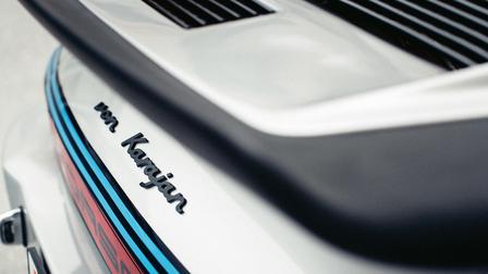 Rear of the Porsche 911 Turbo RS of Herbert von Karajan