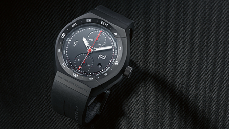 "The ""Black & Rubber"" of Porsche Design Timepieces"