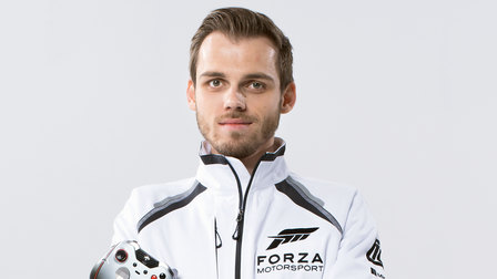 Porsche Niklas Krellenberg, champion in the virtual World Rallye Championship