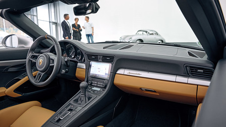Porsche Dashboard of the 911 Speedster