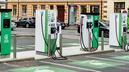 Porsche Charging stations