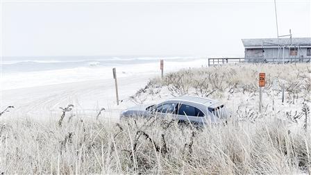 Porsche Macan Turbo, Dune, Hamptons, New York