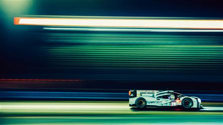 Porsche 919 Hybrid, Circuit des 24 Heures, Le Mans, France