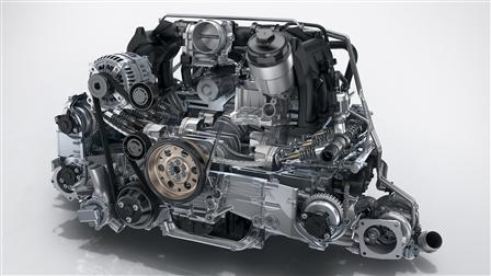 Porsche 911 Carrera (Type 991 II), New turbocharged engine