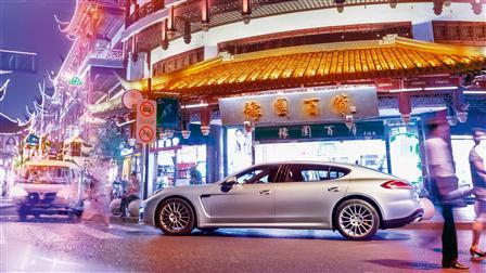 Porsche Panamera Turbo Executive, Shanghai