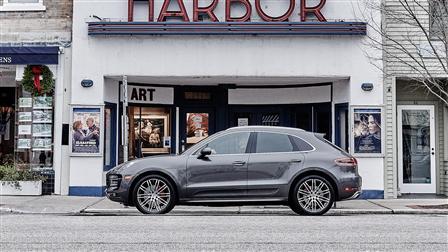Porsche Macan Turbo, Sag Harbor, Hamptons, New York