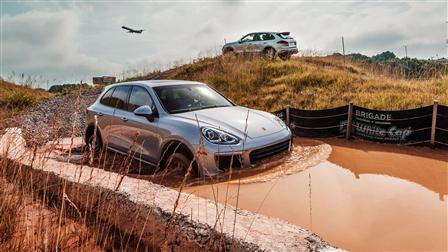 Cayenne S, Offroad track, One Porsche Drive Atlanta