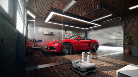 Porsche - White Edition car care range