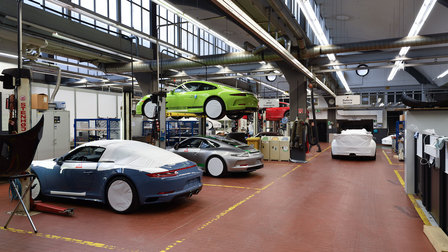 2016: Workshop with 911 R on the hydraulic ramp