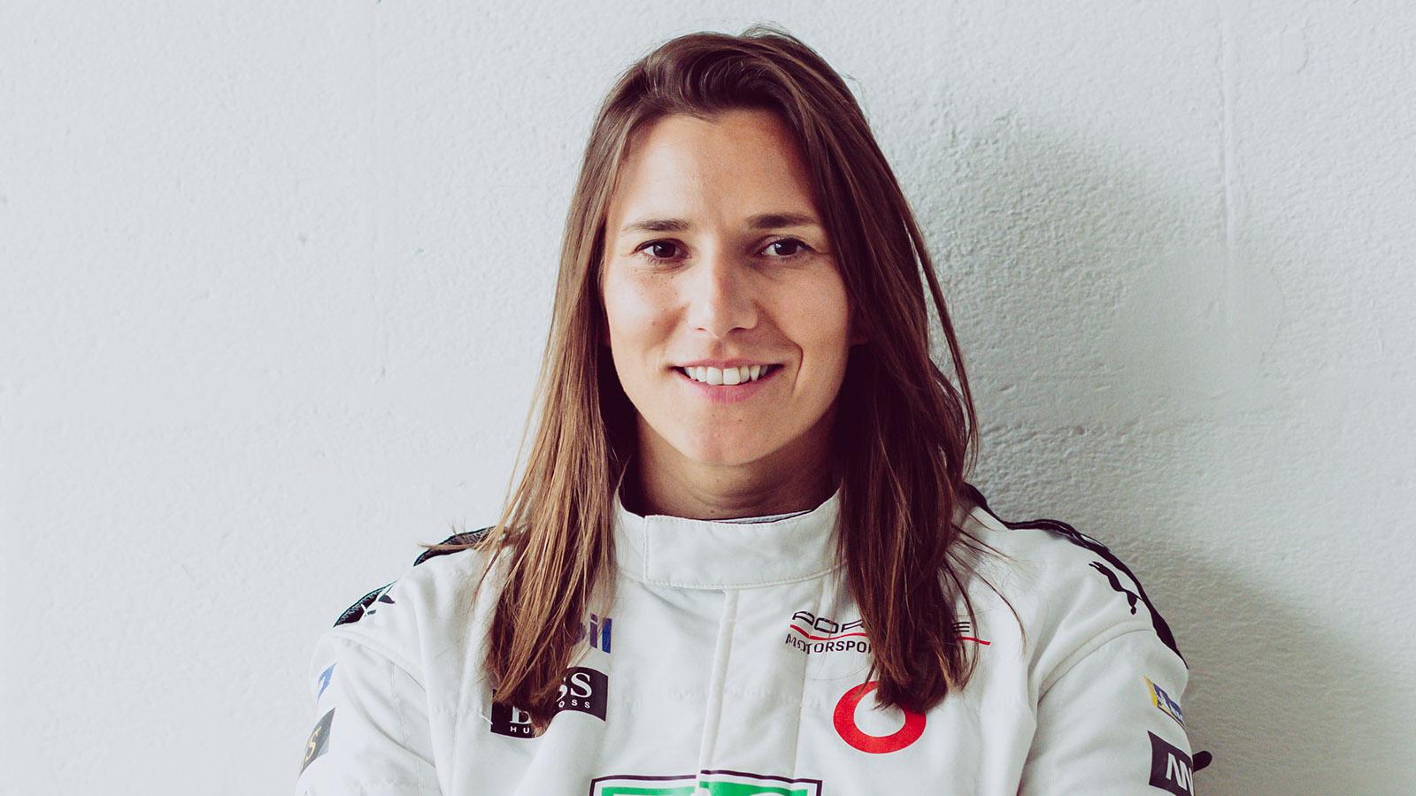 Porsche - Simona De Silvestro (test and development driver) SUI