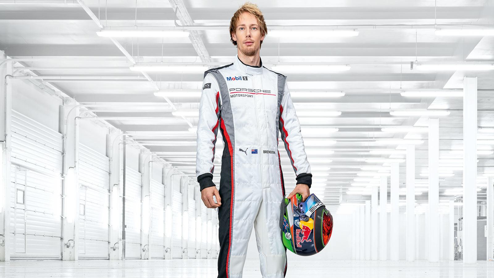 Porsche - Brendon Hartley (test and development driver) NZL