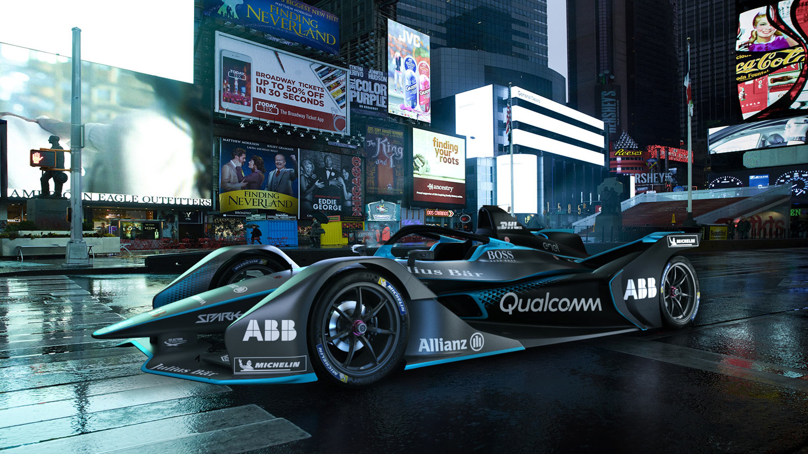 Porsche - Formula E The world's first all-electric racing series