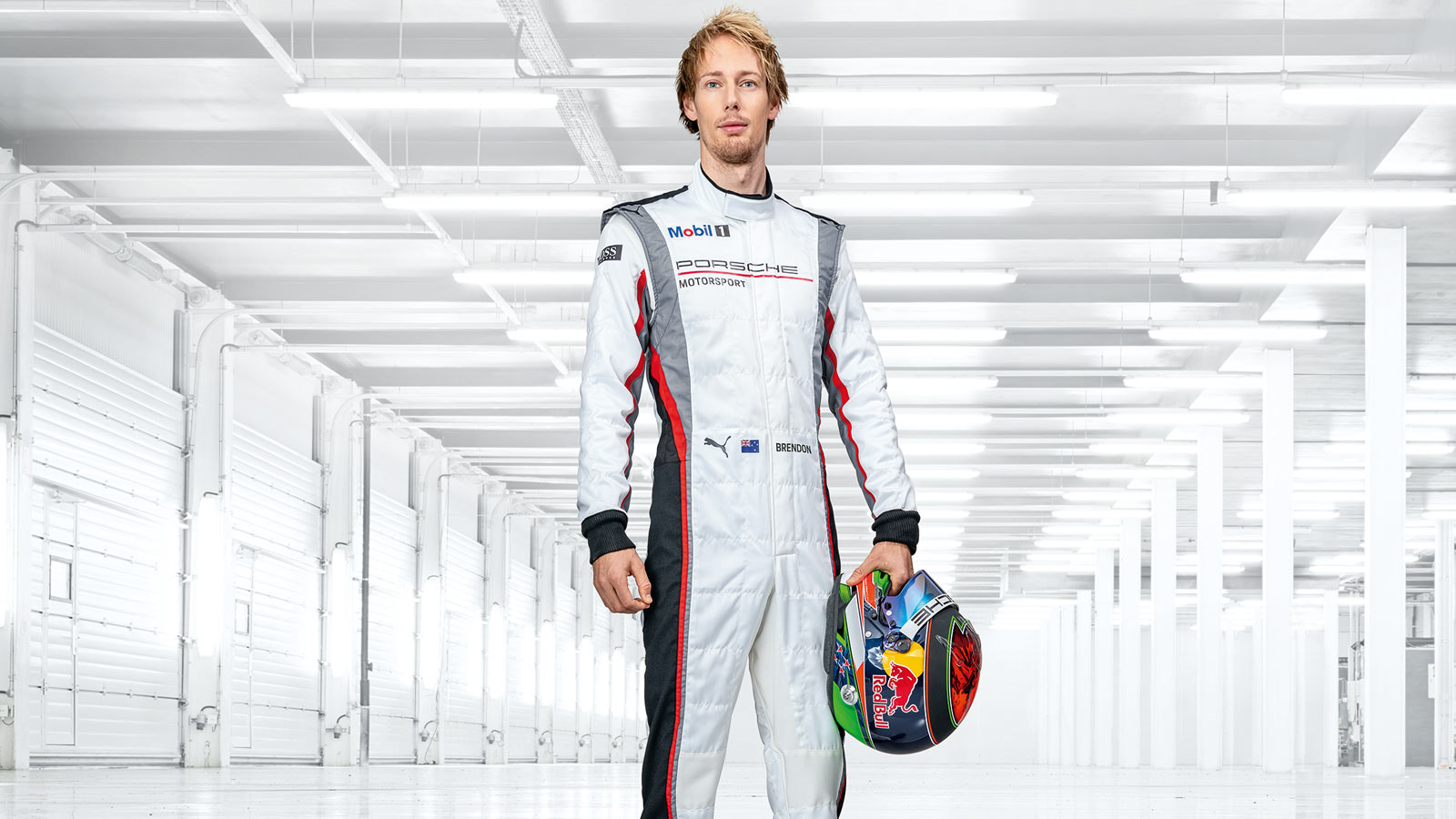Porsche - Brendon Hartley NZL