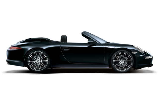 Porsche 911 Carrera Cabriolet Black Edition