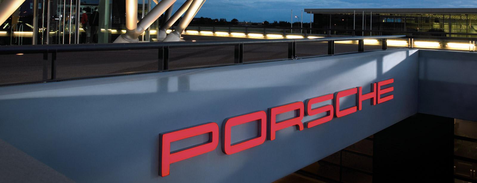 Finn ditt Porsche Center