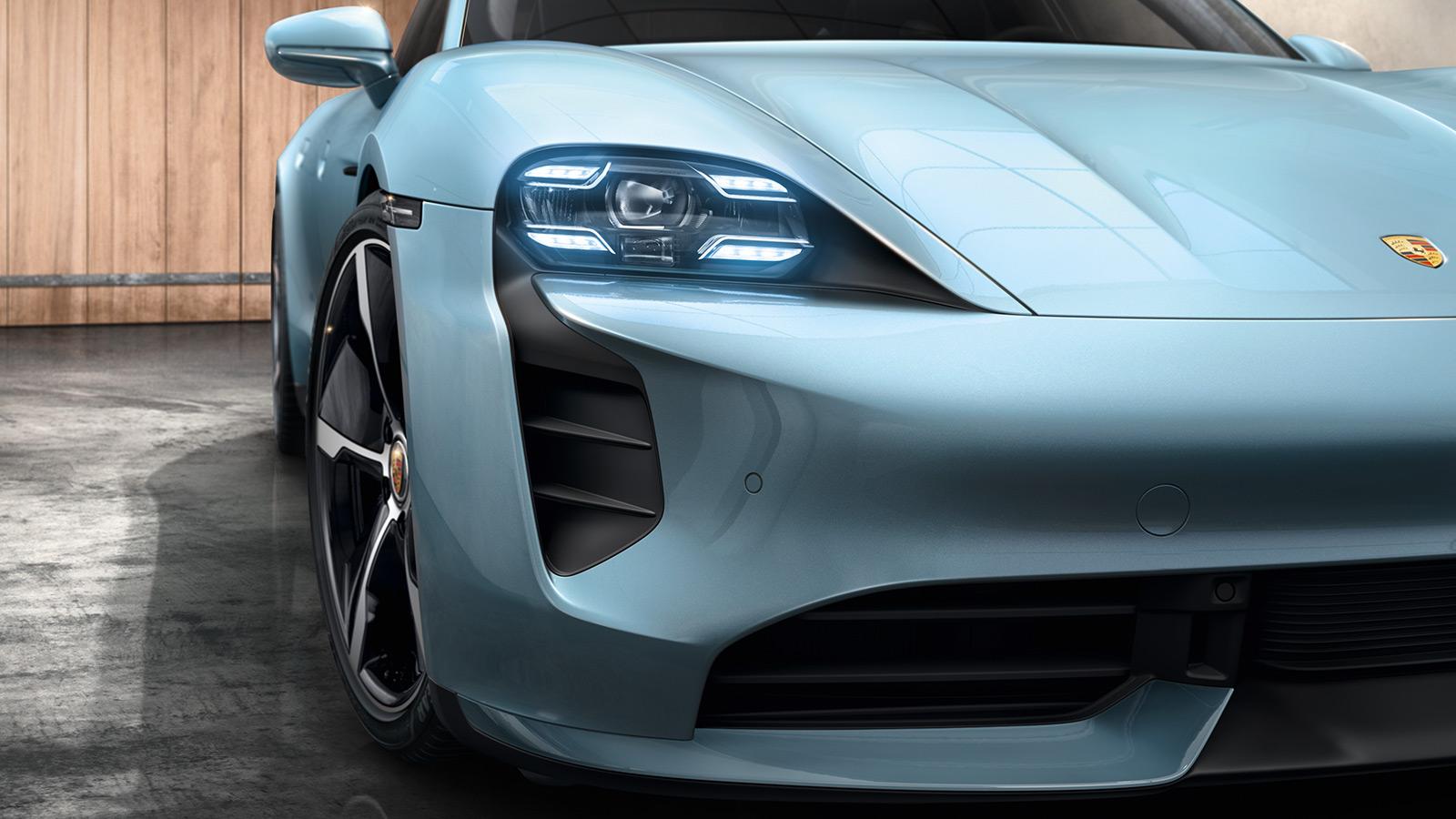 Porsche - Main headlights & taillights