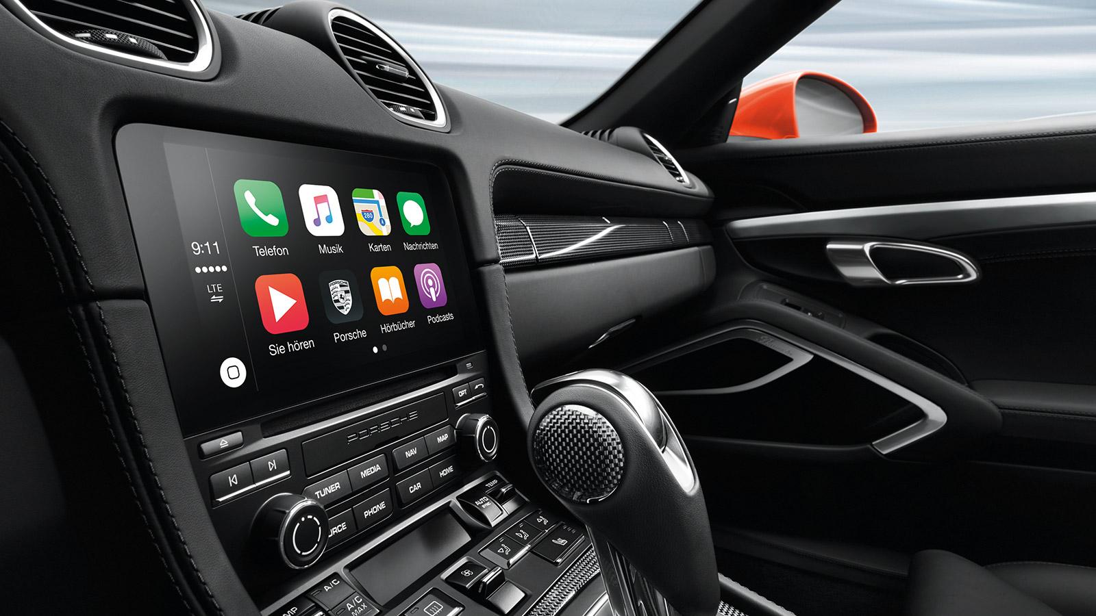 Porsche - Навигация и коммуникация