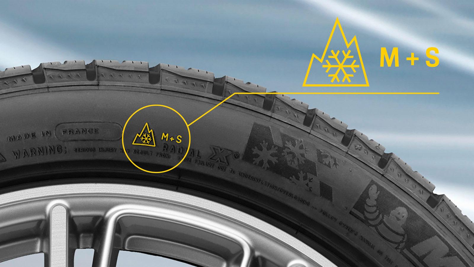 Porsche - ... how to recognize winter tires?