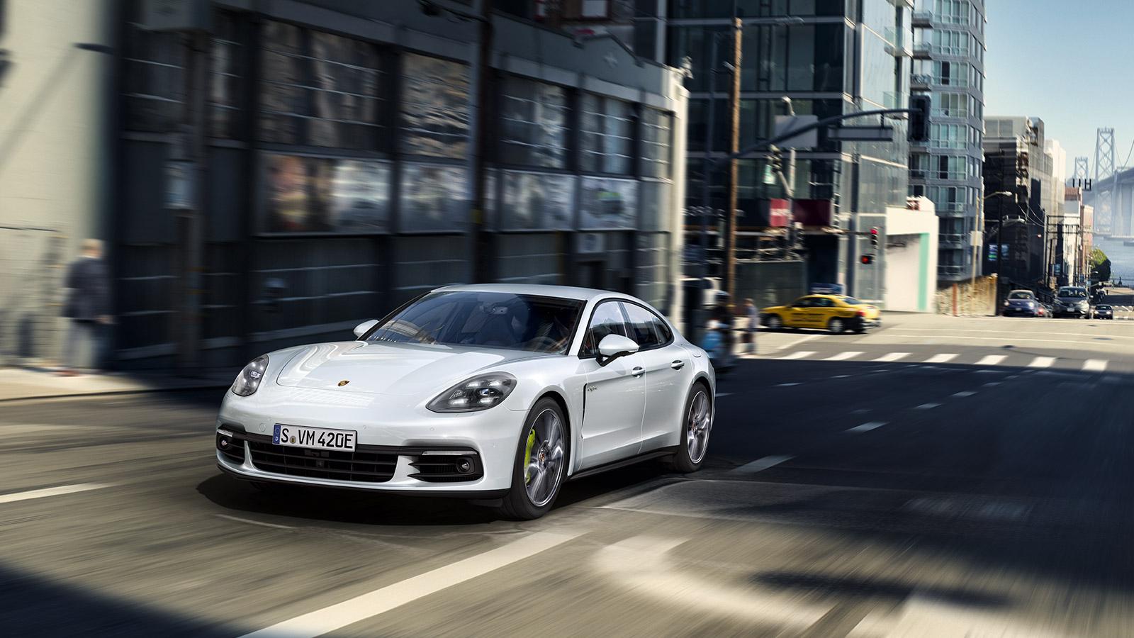 Porsche Modes de conduite