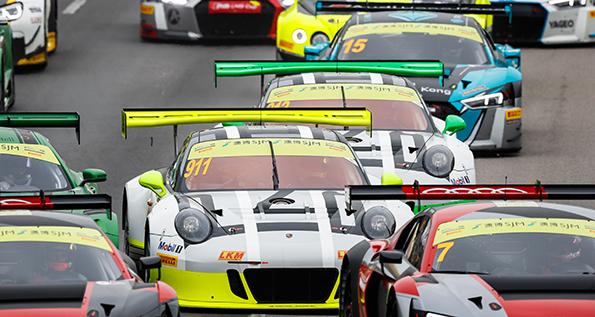 Porsche 911 GT3 R, Manthey Racing