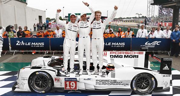 Porsche 919 Hybrid, Porsche Team: Tandy, Bamber, Huelkenberg